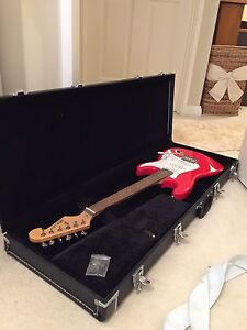 Electric Guitar, Amplifier, Case and Strap Mount Pleasant Melville Area Preview
