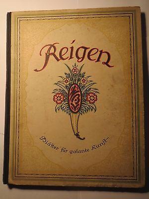 Reigen - Blätter für galante Kunst - Heft 1-12 - 1925 VI. Jahrgang