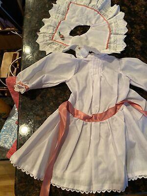 American Girl Doll Samantha Tea Dress New