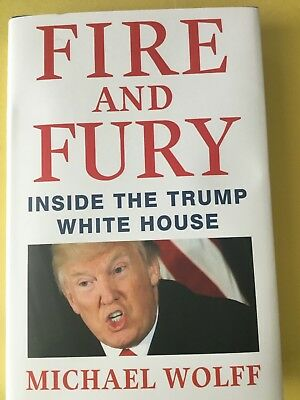 Fire And Fury Inside The Trump White House New Hardcover Book Michael Wolf Storm