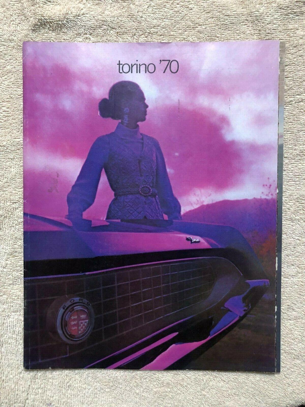 Original 1970 Ford Torino Sales Brochure