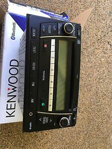 Toyota head unit stereo hilux Edge Hill Cairns City Preview