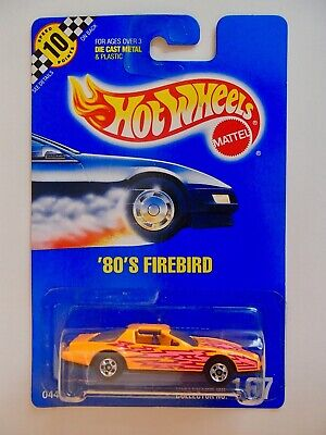 Hot Wheels Blue Card 80s FIREBIRD #167 with sail panel tampo