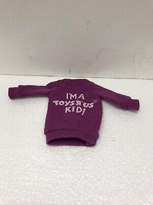 "Vintage ""I'm a Toys r Us Kid!"" Barbie Shirt ~ Sweatshirt Original Mattel 90's!"