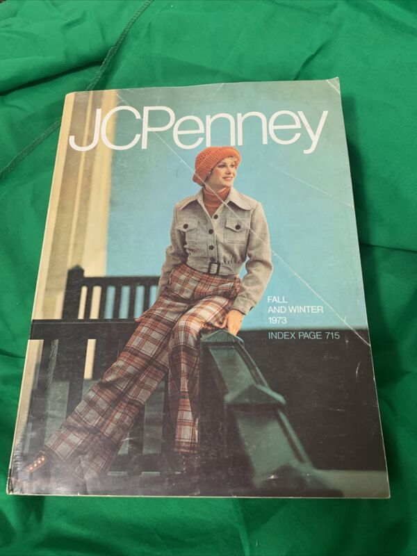 1973 JC Penney Fall Winter Catalog Vintage JCPenney