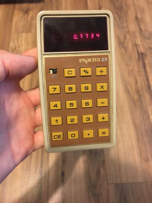 Texas Instruments Exactra 23 Calculator