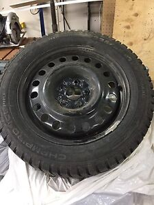 Brand new snow tires and rims for 2013 and up Chrysler 200