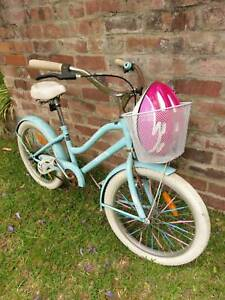 Girl's Bicycle - Blue Southern Star With Basket