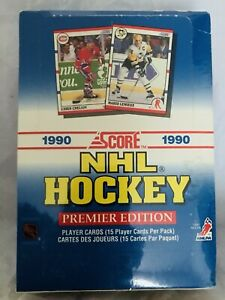 Score 1990 PREMIER EDITION CARTES HOCKEY CARDS