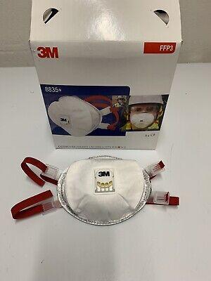 FFP3 3M 8835+ FFP3 R D Partikelmaske Mundschutz Atemschutz Wiederverwendbar
