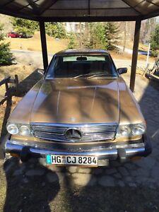 Mercedez Benz 1980, 450 SLC.