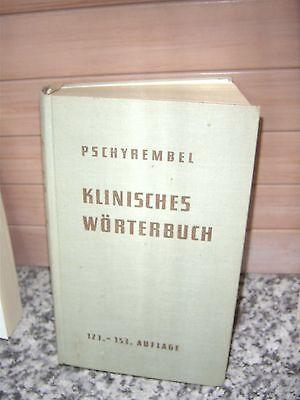 Klinisches Wörterbuch, von Prof. Dr. med. Dr. phil Will
