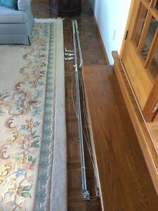 Curtain Rods with Pulls 10 feet long