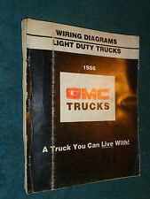 1986 GMC TRUCK WIRING DIAGRAM MANUAL PICKUPS / VANS / S15 ...