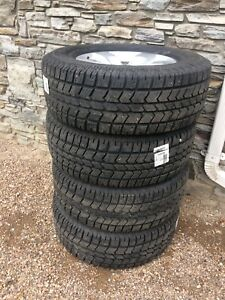 Dodge Ram 1500 Rims and Winter Tires- set of 4