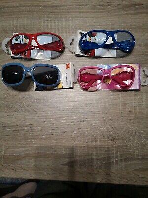 4x Sonnenbrille für Kinder Mickey Mouse Minions Neu!!!