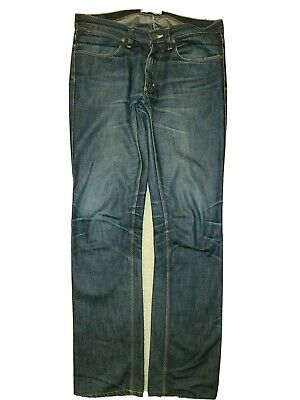 ACNE STUDIOS MAX RAW Jeans Low Waist Slim  Size 31/32 used