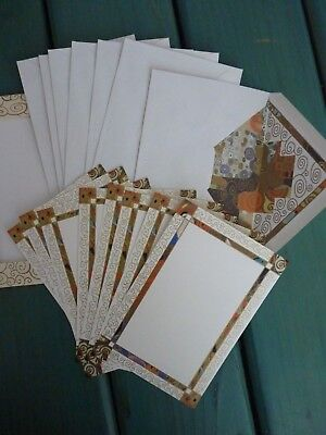 Envelope Folio - Gustav Klimt Art Note Card & Envelope Set By Kartos Folio Storage