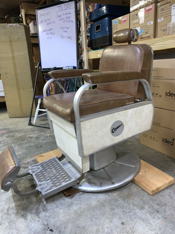 1960s Working Koken COMET barber Chair Local Pkup Only