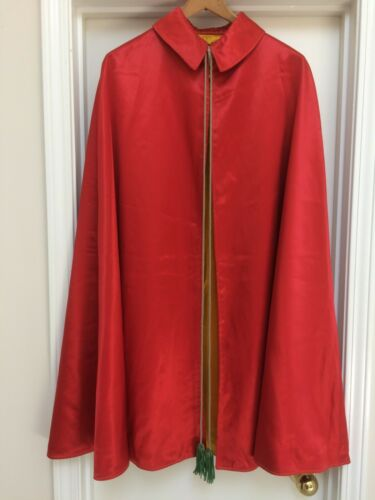 VINTAGE SHRINERS, TANGIER-OMAHA, FRATERNAL CAPE/ROBE/GOWN.