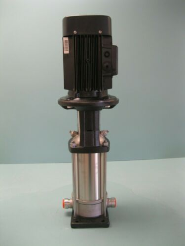 "1"" PJE Grundfos CRN3-13 Centrifugal Pump 3 HP Motor NEW P4 (2672)"