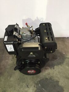 10hp Tomahawk Diesel Engine 418cc 4 Stroke Single Cylinder 2-3/4
