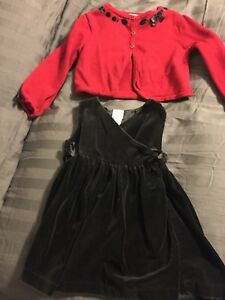 Christmas outfit. 2t to 3t.