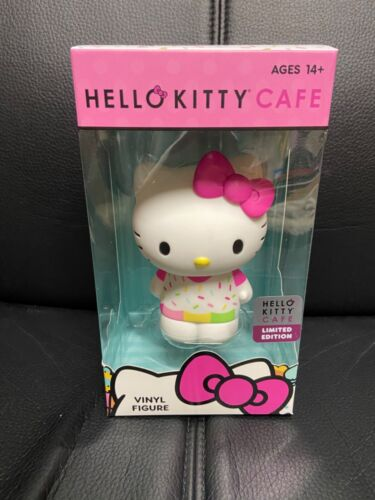 New in Box Hello Kitty Cafe Limited Edition Vinyl Figure Figurine