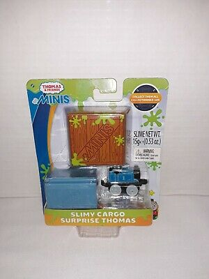 Thomas the Engine Tank Mini Slimy Cargo Glow in The Dark Toy New