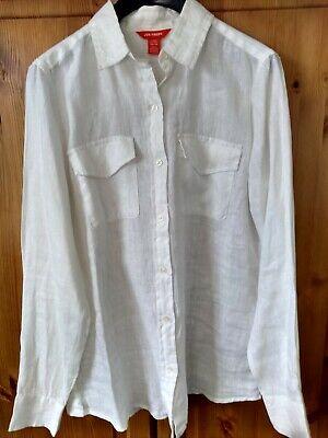 "100% natural linen shirt by JOE FRESH, generous size XS chest 38"" BN"