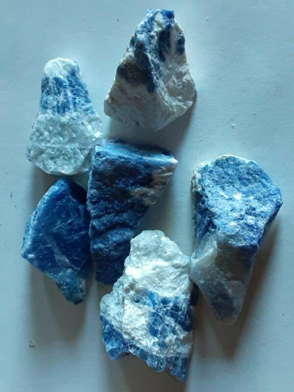 Beautiful 575 Ct.Blue Sodalite Lot Natural  Gemstone Lapidary, Reiki.