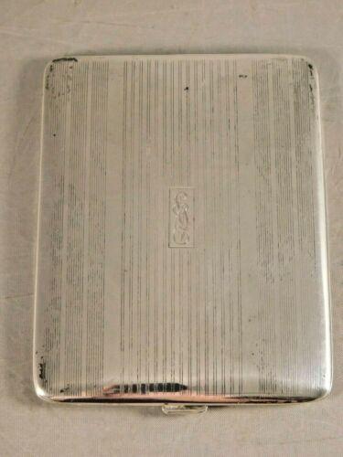 VINTAGE 1944 STERLING SILVER CIGARETTE CASE