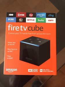"""Android """"amazon fire tv cube"""""""
