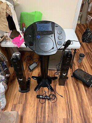 Singing Machine ISM1030BT Bluetooth Pedestal Karaoke System Free Shipping (Singing Machine Bluetooth Pedestal Karaoke System Black)