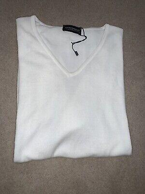 John Smedley 100% Cotton T shirt - Size Medium
