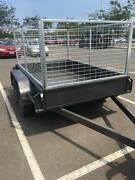 trailer with cage Warracknabeal Yarriambiack Area Preview