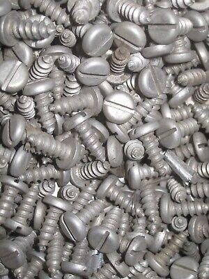 Sheet Metal Screws Approx 3 Lbs. 6 X 38 Slotted Pan Head Galvanized Steel