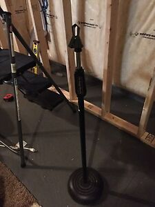 One Touch Microphone STUDIO MIC Stand Grip Release