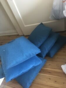 6 free throw cushions on street at 16 Richmond Road Rose Bay