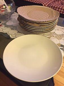 IKEA white plates