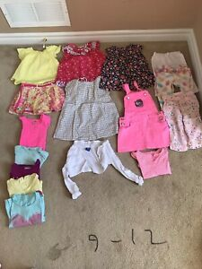 Girl clothes 9-12 months