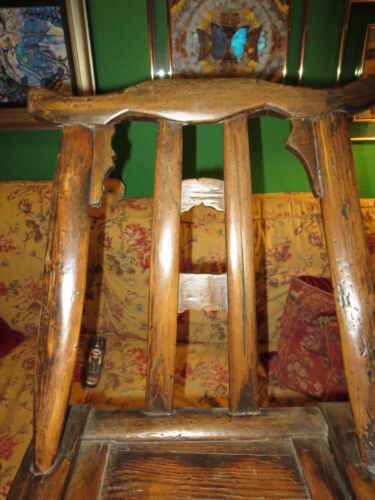 Chinese Antique Yoke Child Chair