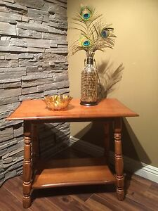 Country Rustic Side Table