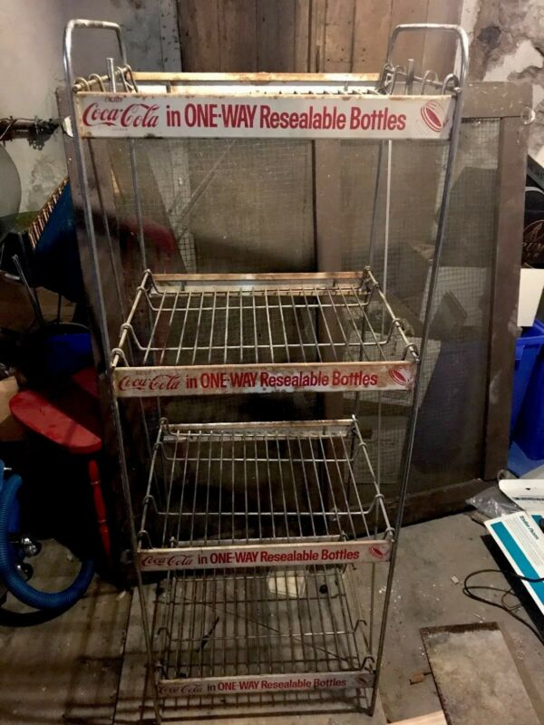 Vintage Coca Cola Display Stand