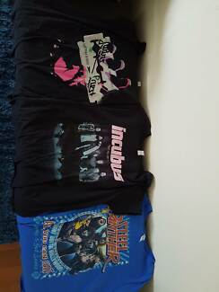 Ladies New Band Shirts (Would fit sizes 10-14 comfortably)