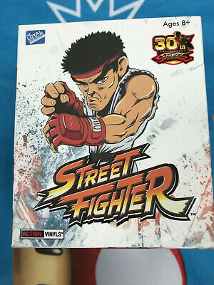 STREET FIGHTER Action Vinyls 30th Anniversary blind bag figure RYU 2017 NEW! for sale  Shipping to India