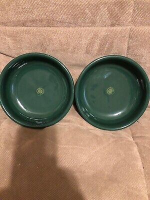 Two Mamma Ro Soup Bowls Green Made in Italy