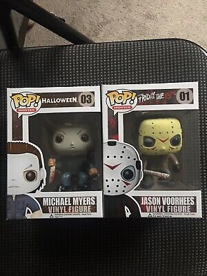 FUNKO POP! MOVIES MICHAEL MYERS AND JASON VOORHEES - Michael And Jason
