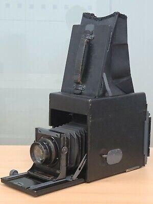 Folmer & Schwing R.B. Auto Graflex 3 1/4 x 4 1/4 Rare Early Model Tessar Lens