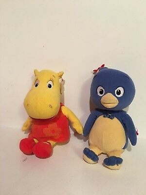 Nick Jr Backyardigans Ty Beanie Babies Tasha & Pablo for sale  Naperville
